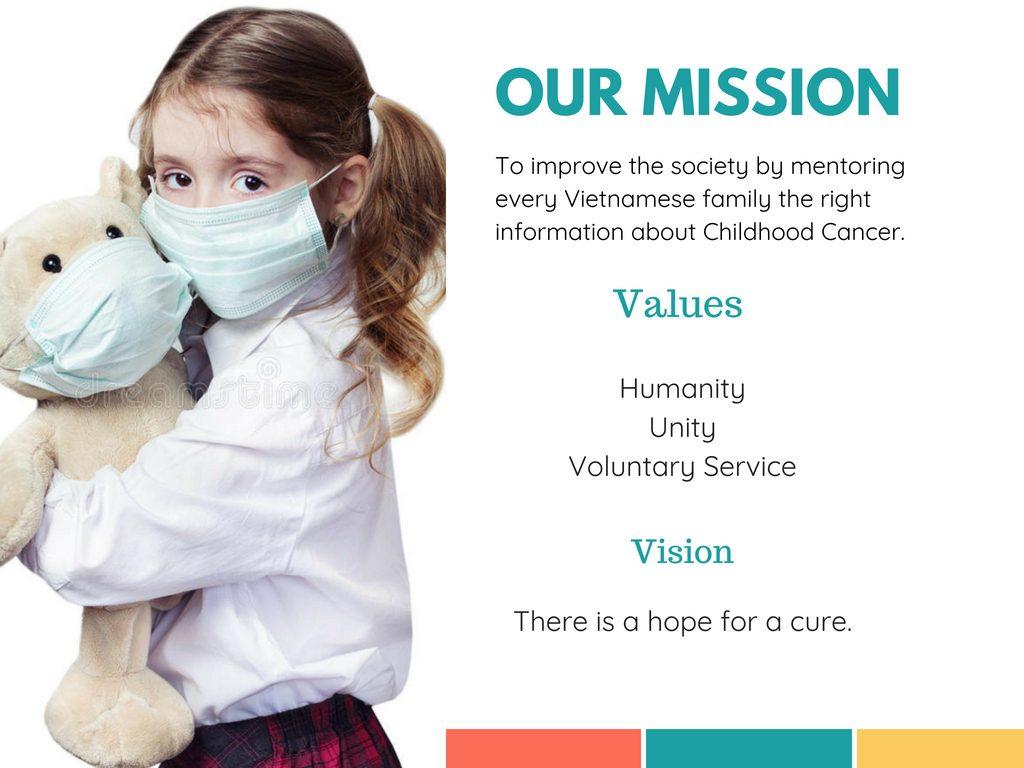 Mission, Vision, & Values | The Cancer Voice Vietnam